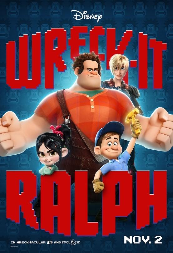 La nueva película de Disney, '¡Rompe Ralph!', se introduce en el mundo de los videojuegos para ofrecer una ficción llena de acción y aventuras. #RompeRalph #SensaCine  http://www.sensacine.com/peliculas/pelicula-190157/