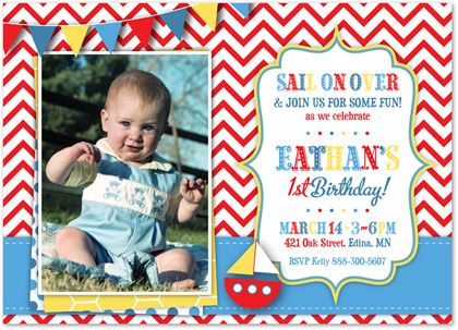 21 best First Birthday Invitations Boy images on Pinterest - fresh birthday invitation of my son