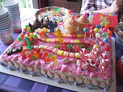 candyland cake - please make this for Gretta