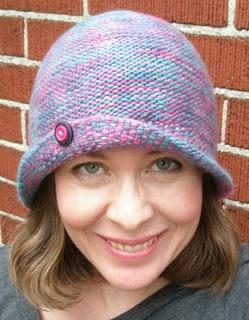 Free Knitting Patterns.  Not Just for Chemo Cloche cap. Pretty retro 20s design.