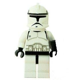 Clone Trooper (Classic) - LEGO Star Wars Minifigure by LEGO. $19.45. Rare figure originally from lego sets such as Republic Gunship and AT-TE.. Comes with his original orange-tip blaster gun.. Classic EP2 Clone Trooper Lego figure.. The LEGO Clone Troopers 1 inch mini figures are highly sought after by collectors for use in building large armies of LEGO Clone Troopers. It is a goal for most Star Wars LEGO Collectors to have their very own Star Wars battle field with a hundre...