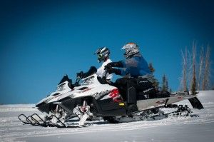 Snowmobile at Bryce Canyon!