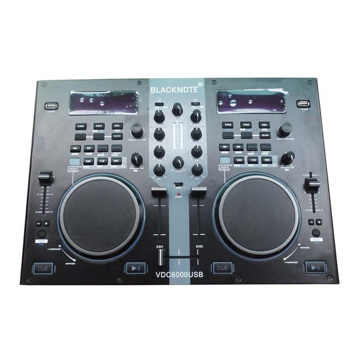 BLACKNOTE DJ MIDI controller U disk controller computer to play players playing disc audio mixing console players sound mixer