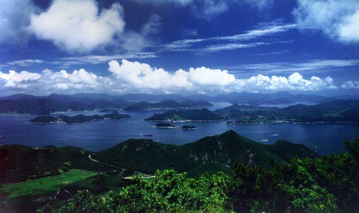 Dadohae Haesang National Park en 완도, 전남