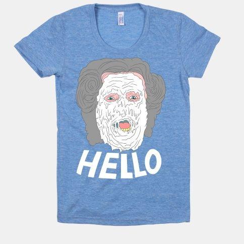 HELLO! (MRS. DOUBTFIRE) | HUMAN | T-Shirts, Tanks ...