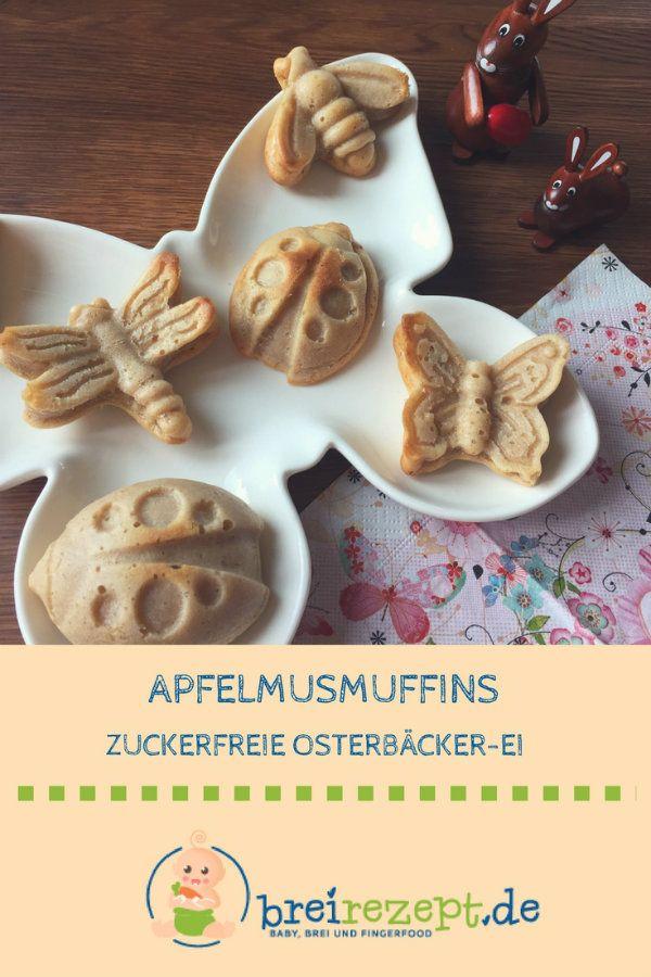 Kleine Apfelmuffins mit Zimt   – Breifreie Rezepte (BLW)