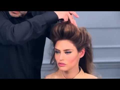 Volume Ponytail by Elnett Volume Excess from L'Oréal Paris - YouTube