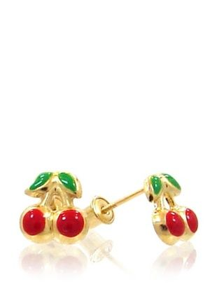 35% OFF Mindy Harris Baby Cherry Screw Back Earrings
