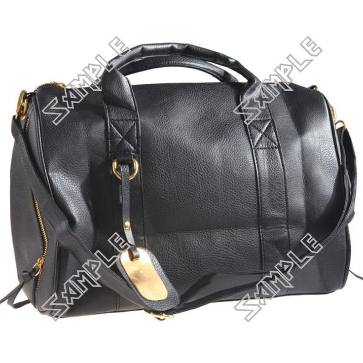 Korean Style Studs Bottom PU Leather Shoulder Bag  $30.81