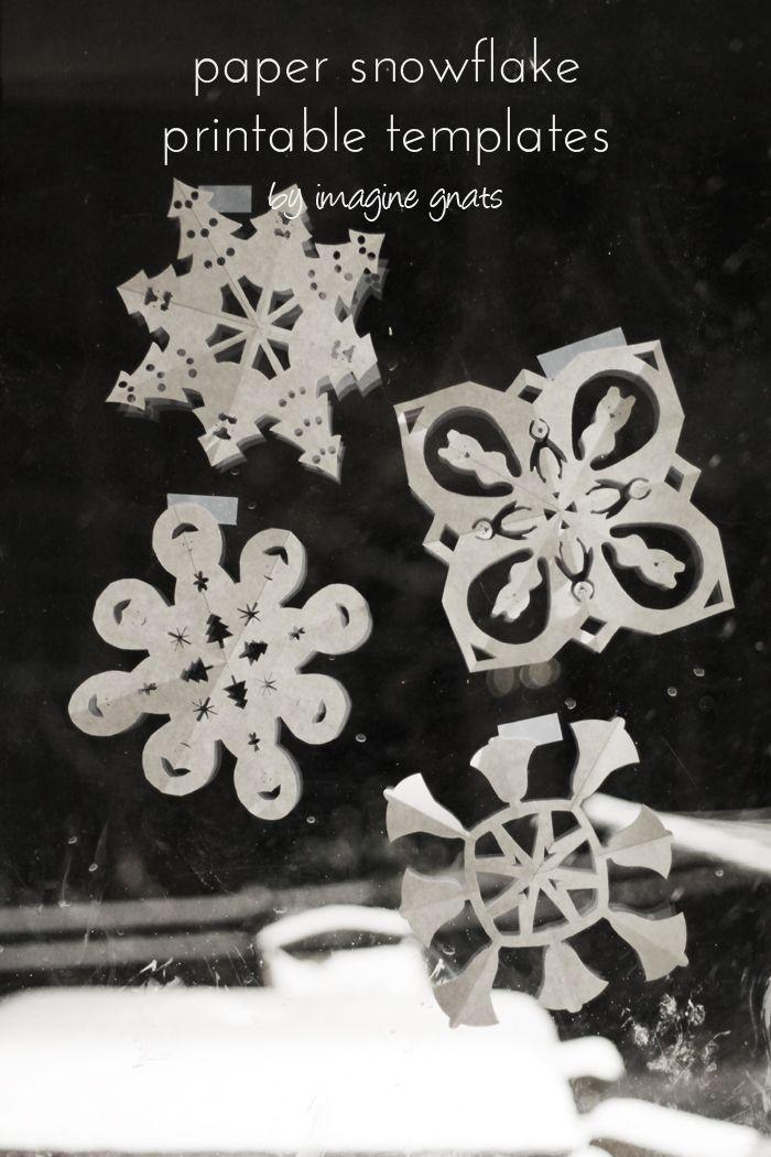 free printable: paper snowflakes | imagine gnats