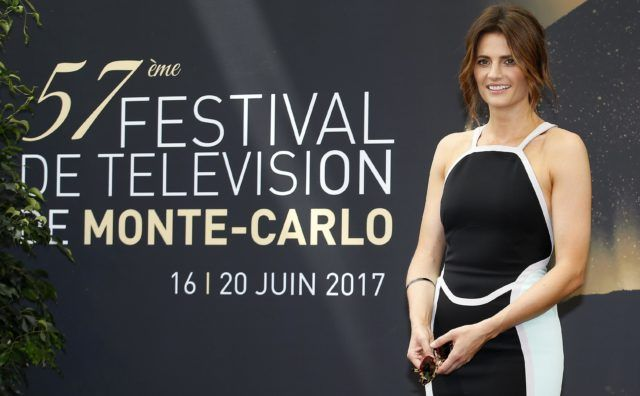 At the Monte Carlo TV Fest Stana Katic Shines As the Star of Absentia