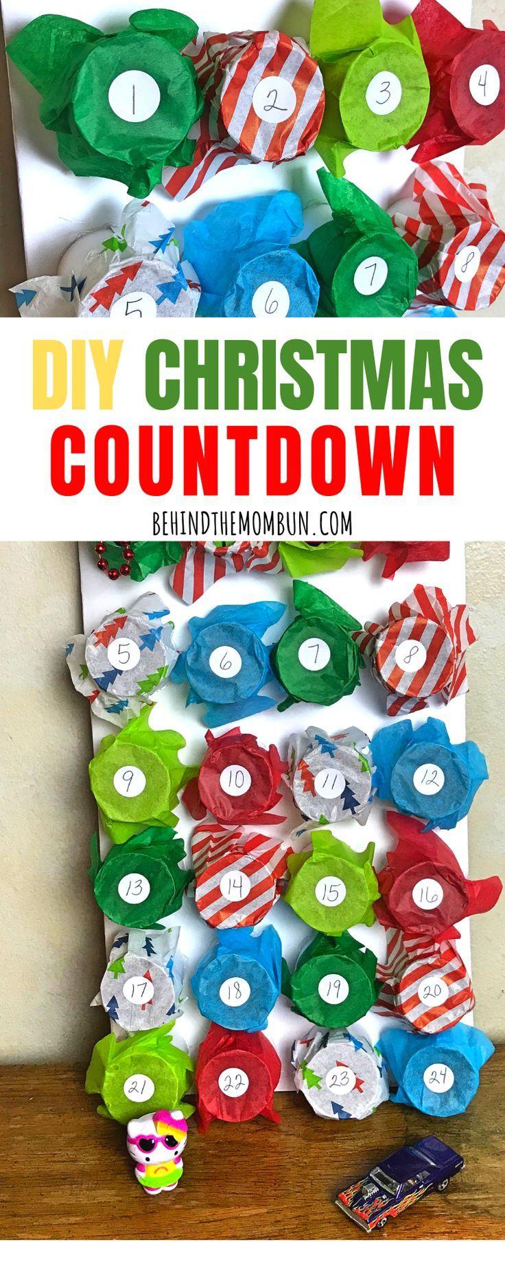 Diy Advent Calendar For Christmas Christmas Countdown Calendar