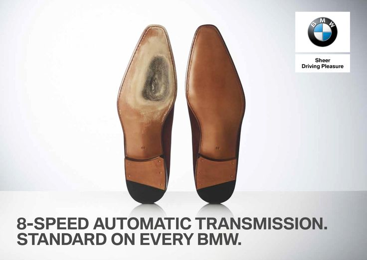 8-speed automatic transmission are standard on every BMW. Agency: J. Walter Thompson Amsterdam.