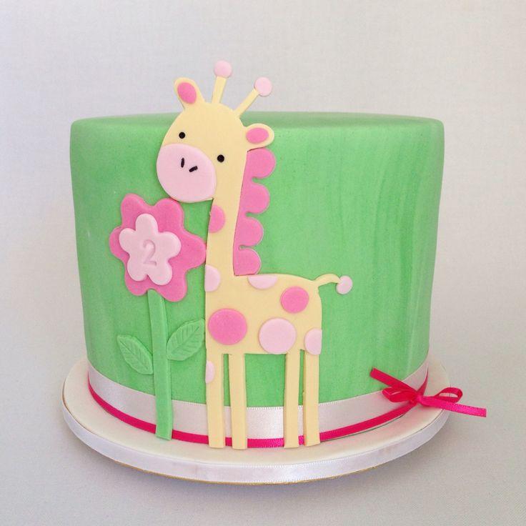 Giraffe cake by www.breezyscakes.com.au