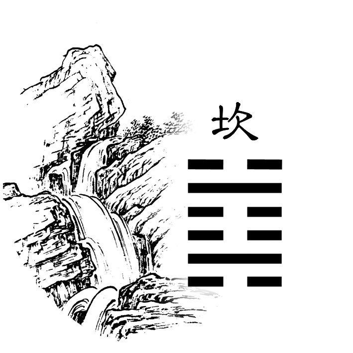 29. ¦|¦¦|¦ - Gorge (坎 kǎn)