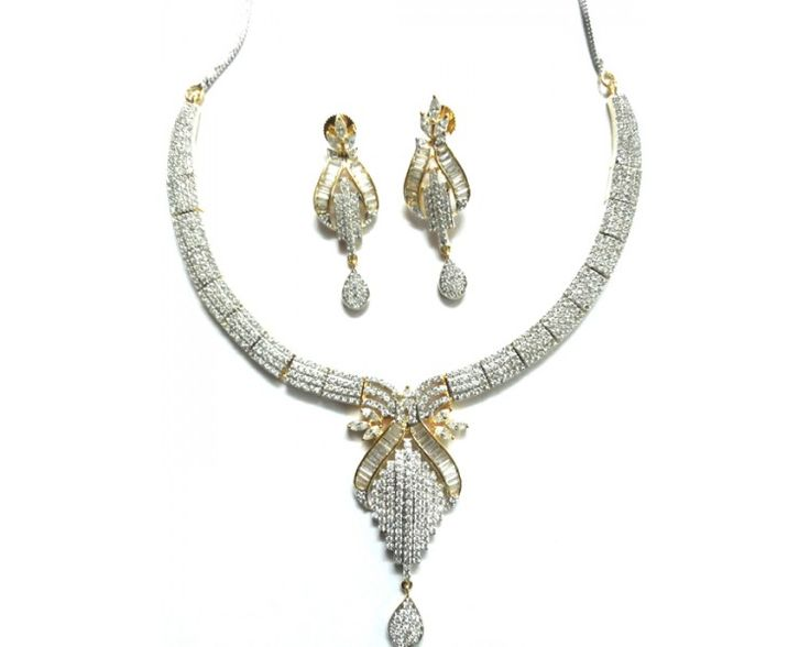 American Diamond Necklace AD2017
