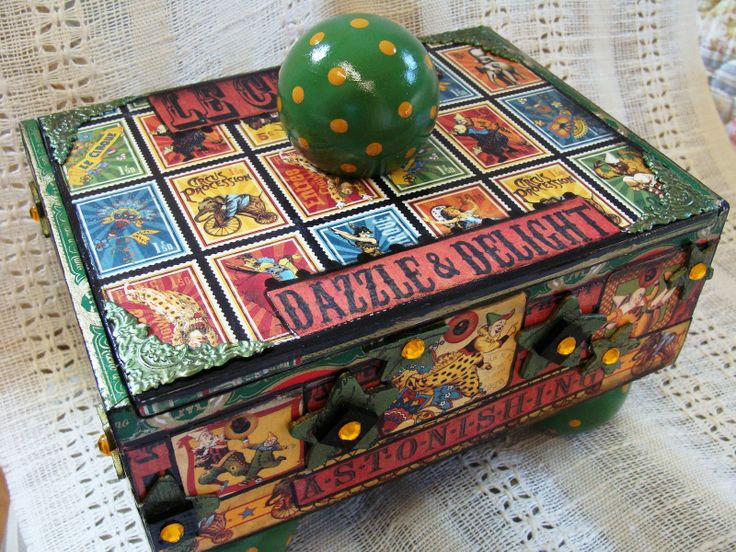 Cigar box craft ideas pinterest for Cigar boxes for crafts