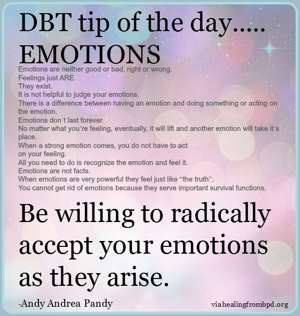 Dbt emotion regulation handout 8