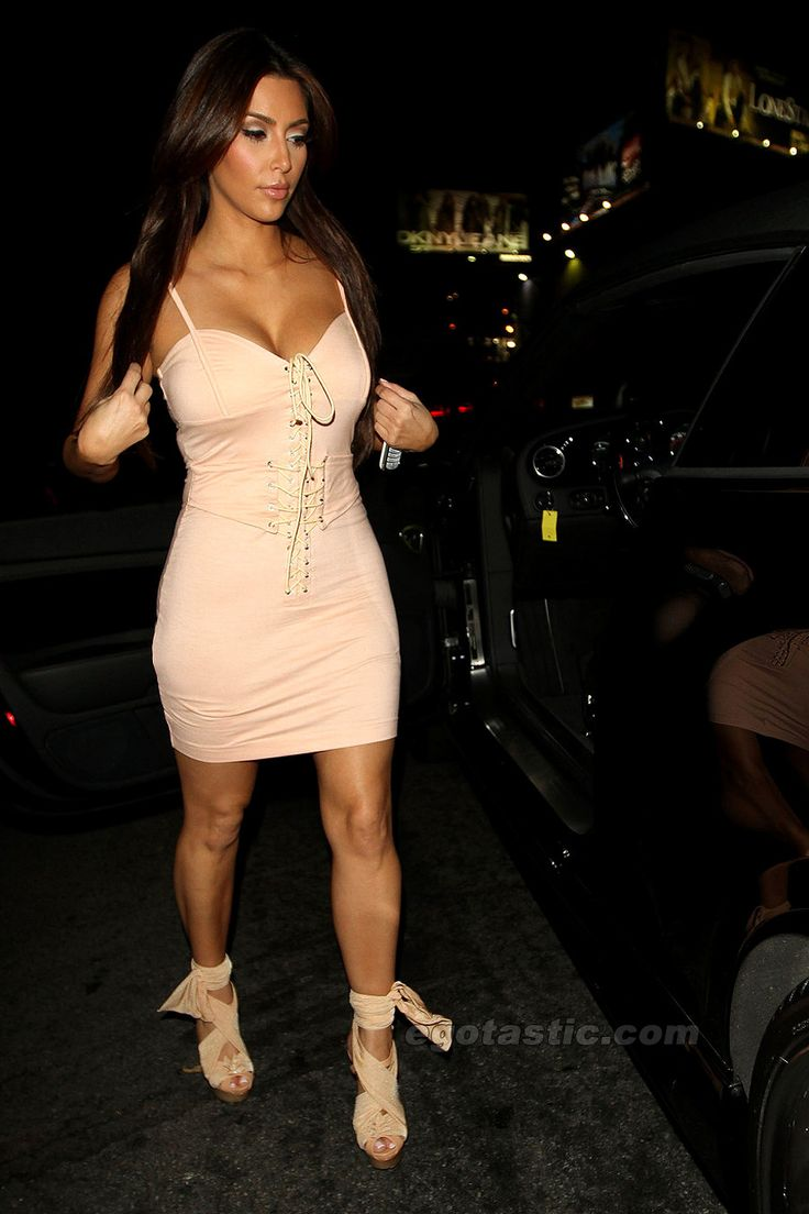Beige Dress Kim Kardashian Looks Dresses Evening Short Beige Pinterest Kim
