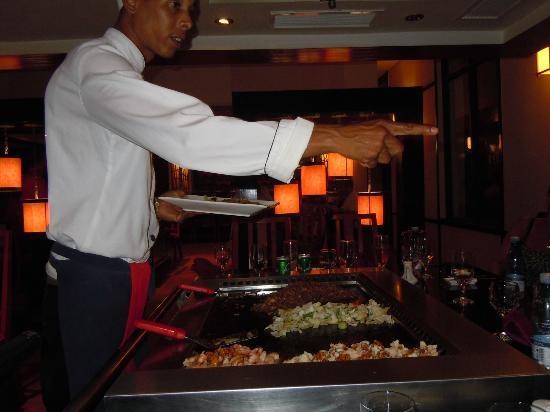 Memories Azul Beach Resort: Japonese restaurant