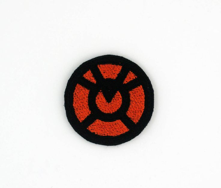 Orange Lantern Corps Patch, Agent Orange Patch, Larfleeze Patch, Orange Lantern Pin, Iron On Patch, Orange Lantern Embroidered Patch by ATouchofLifeDesigns on Etsy