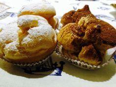 Per i vostri momenti golosi, vi propongo questa ricetta... Chi ama quella che in Sicilia si chiama 'piccola pasticceria', davanti a un vassoio di bignè res