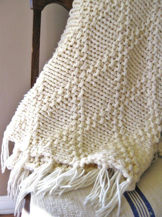 Free Knitted Afghan Patterns On Pinterest : Knitted Afghans Pinterestte Afgan Battaniyeler, orgu ve ...
