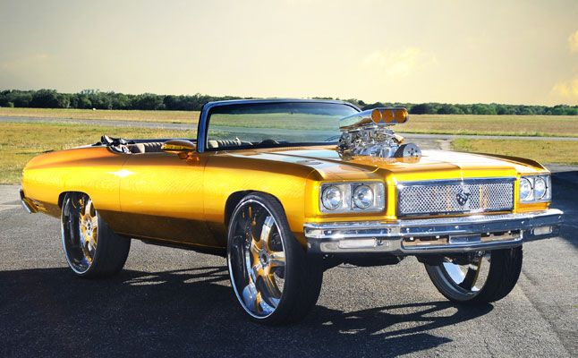 Custom Donk Cars | rides-cars-texas-1975-chevrolet-caprice-donk-gold-feat