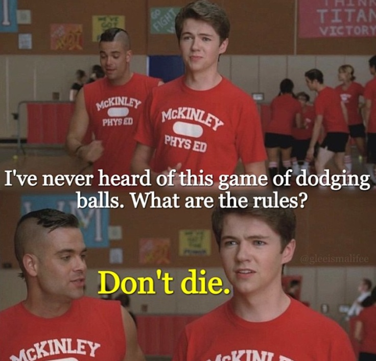 Wise words from Puck. I miss Rory!!