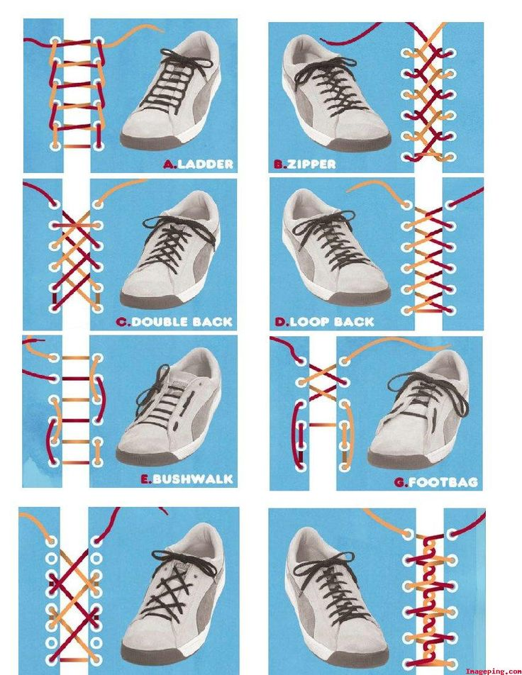 COOL STUFF: Different Types Of Shoelace Knots