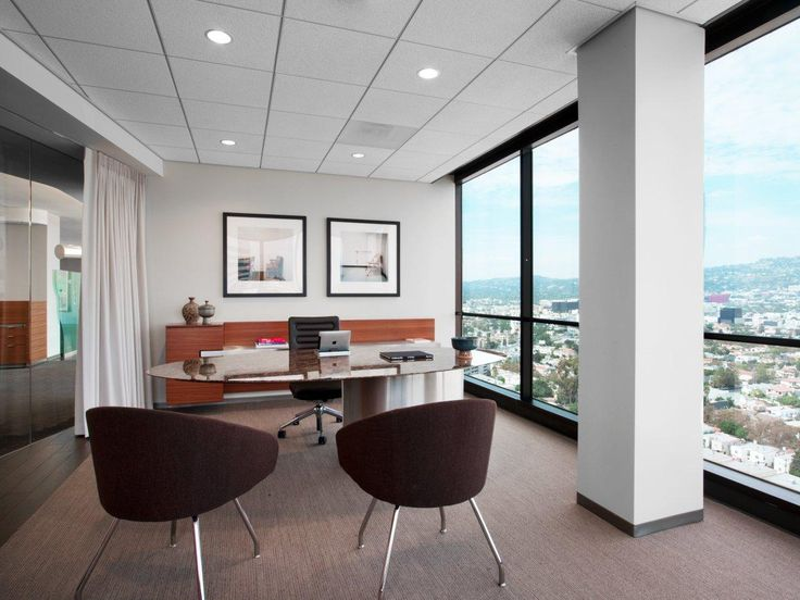 Another View Of A Kottler Kottler Legal Office Minimal And Modern Table Design With Wood