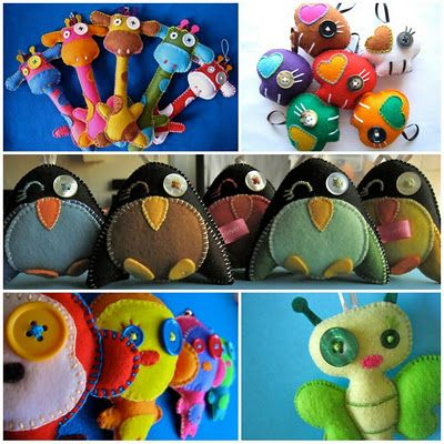 Bugs and Fishes by Lupin: Giveaway: Felt Owl Ornament from Eleventh Monkey