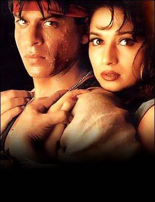 SRK. Shah Rukh Khan. Madhuri Dixit. Koyla.