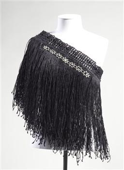 'Matariki Caper' woven garment kohai grace