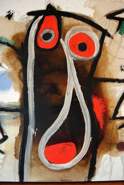 A work by Joan Miró at Fundació Pilar I Joan Miró a Mallorca.