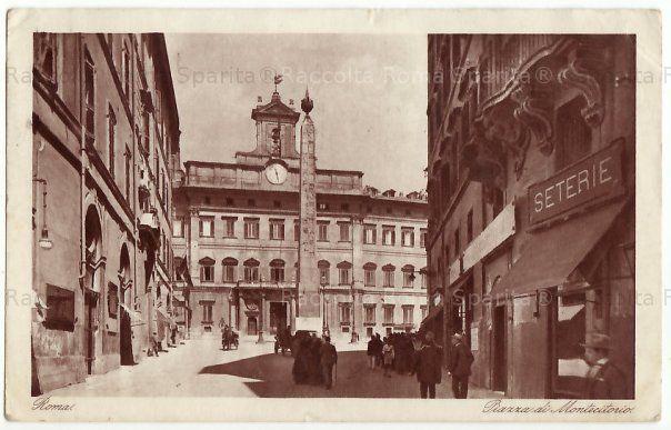 Piazza di Montecitorio Anno: 1928