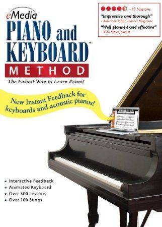 Over 300 easy-to-follow lessons from distinguished Juilliard instructor.  New Interactive Instant Feedback works with both electronic keyboards and acoustic pianos!  New fully scalable lesson screens and an option for full-screen video.  Songs and exercises are enhanced by live recorded audio, variable-speed MIDI keyboard tracks, MIDI accompaniments, and an Animated Keyboard.  Price: $52.05