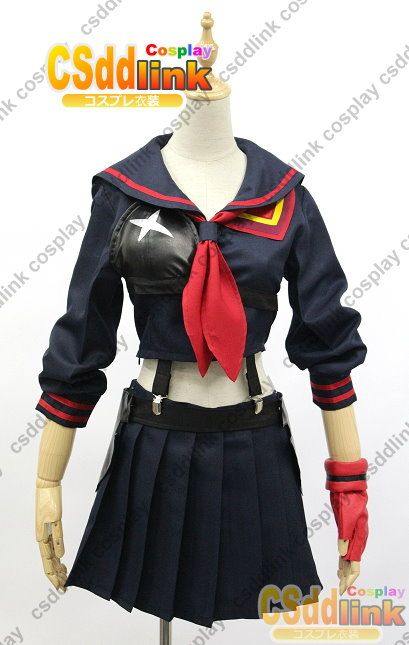 Kill la Kill Matoi Ryuko sailor uniform Senketsu cosplay costume - CSddlink cosplay