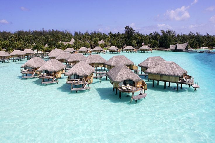 Bora Bora Pearl Beach Resort and Spa overwater bungalows