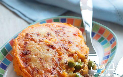 Рецепт – Картофельный пирог с мясом