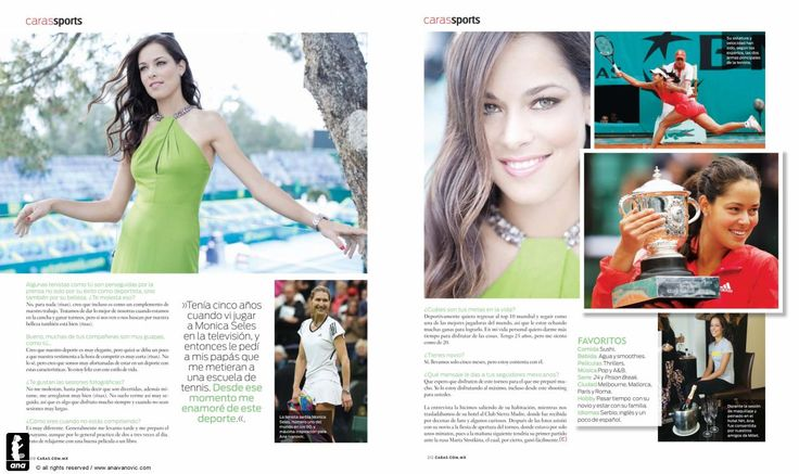 CARAS (Mexico) magazine feature