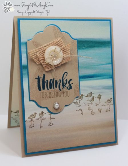 Stampin' Up! Suite Sayings for Fab Friday (Stamp With Amy K)
