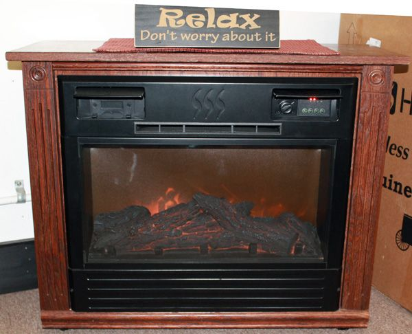 amish country crafts has available the electric roll n glow fireplace by heat surge which looks. Black Bedroom Furniture Sets. Home Design Ideas