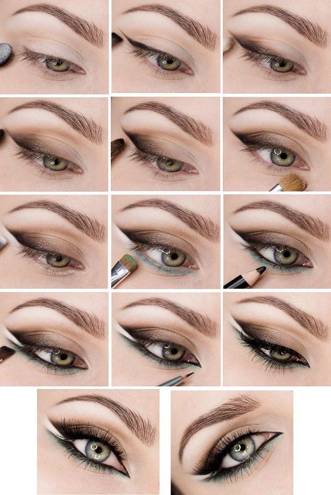 Фото инструкции по макияжу
