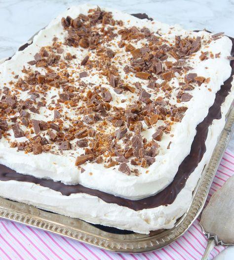 Daimmarängtårta – Lindas Bakskola