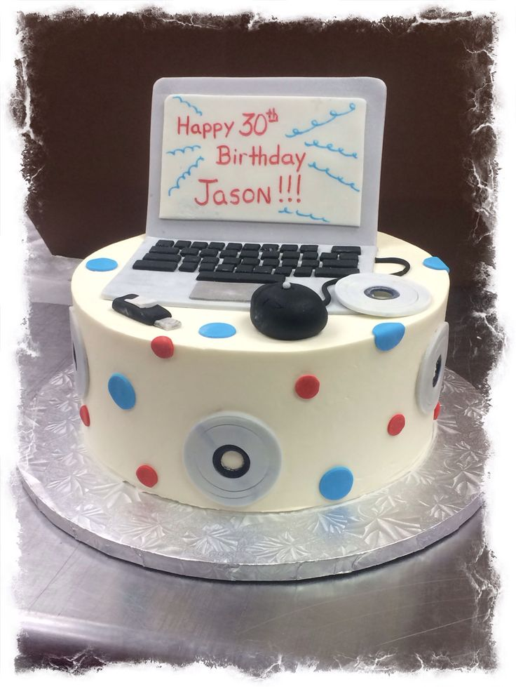 25+ Best Ideas about Computer Cake on Pinterest Cookies ...