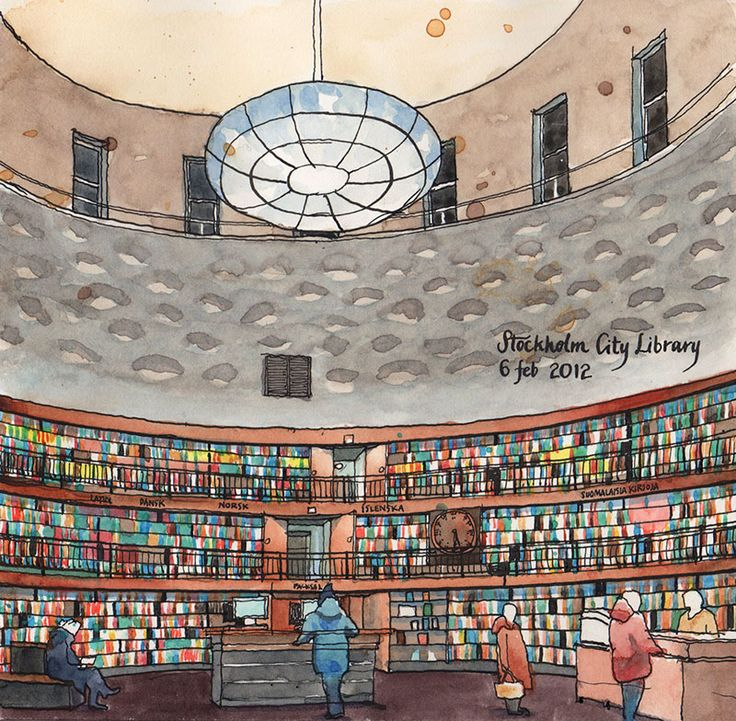 Stockholm Public Library | Odengatan 63, Stockholm