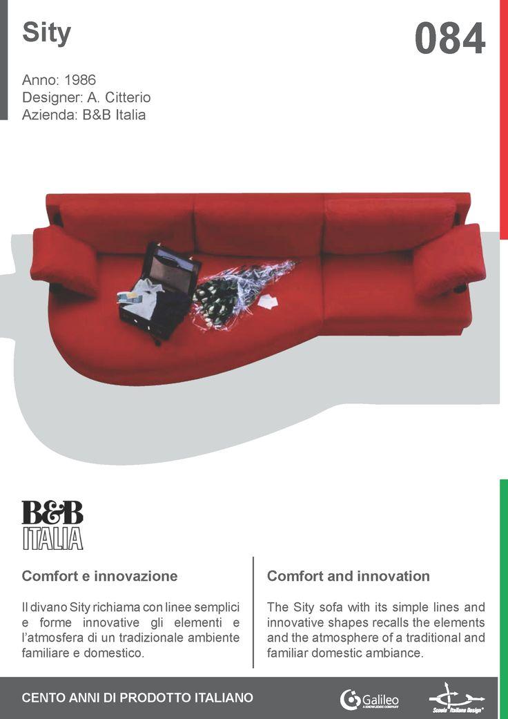 Sity by Antonio Citterio for B&B Italia (1986) #sofa #living #furnishing #interior #home