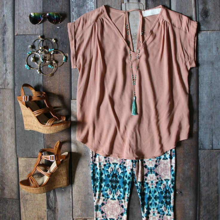 Shop our BRAND NEW Relaxed Top in Taupe for ONLY $26! Now offering free shipping on ALL orders!