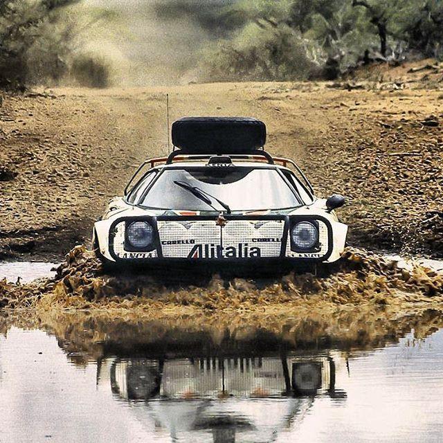 — itsbrucemclaren: Lancia Stratos kenya